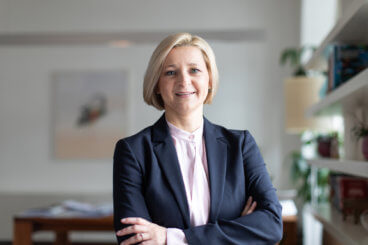 WK-Direktorin Evelyn Geiger-Anker