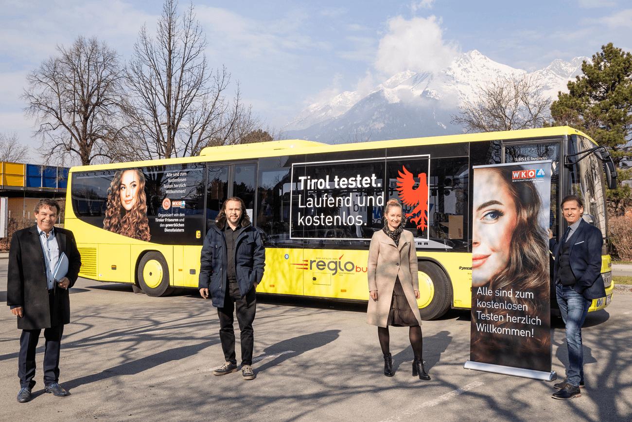 Test-Bus Tirol