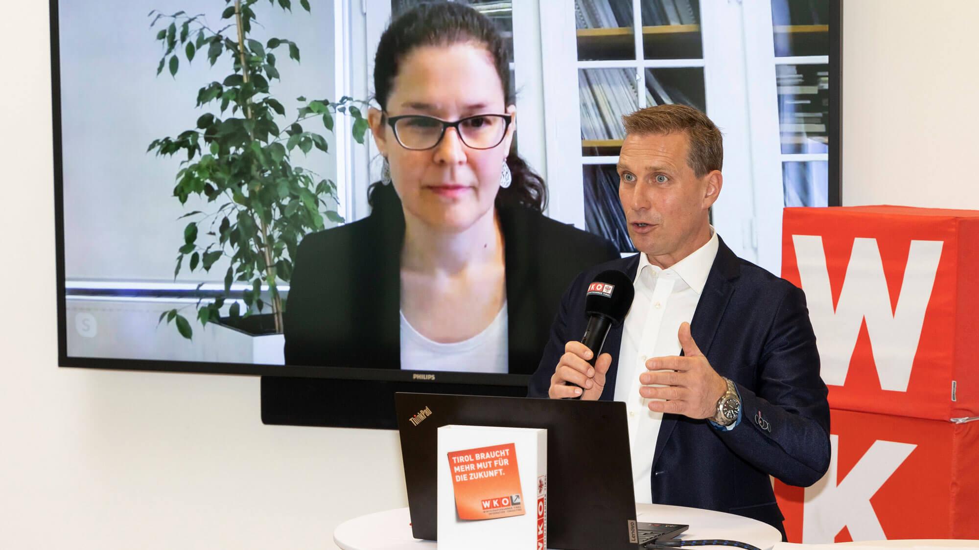 Konjunkturbeobachtung Gewerbe und Handwerk Tirol
