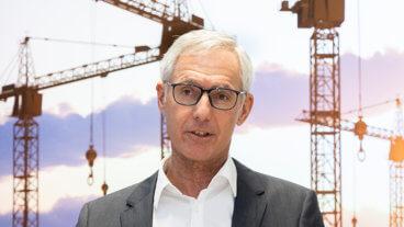 Sprecher der Tiroler Bauindustrie Manfred Lechner