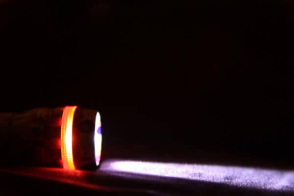 Taschenlampe als Reserve bei Blackout