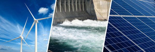 Erneuerbaren-Ausbau-Gesetz: Wind-, Wasserkraft und Photovoltaikanlagen