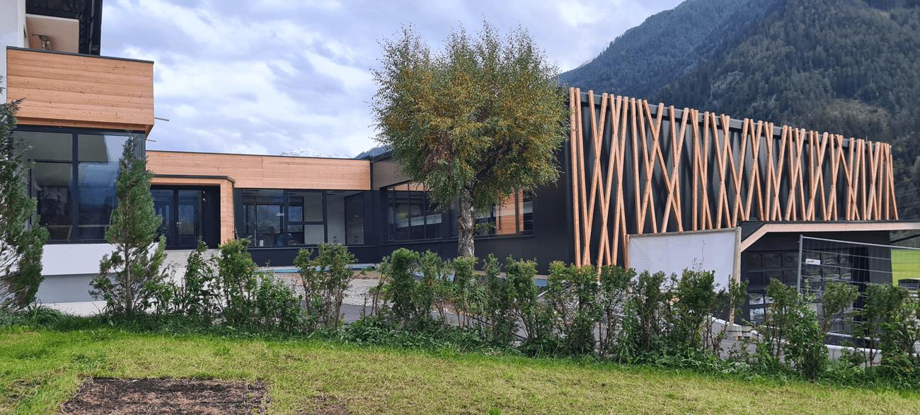 Das Betriebsgebäude der Makkon GmbH