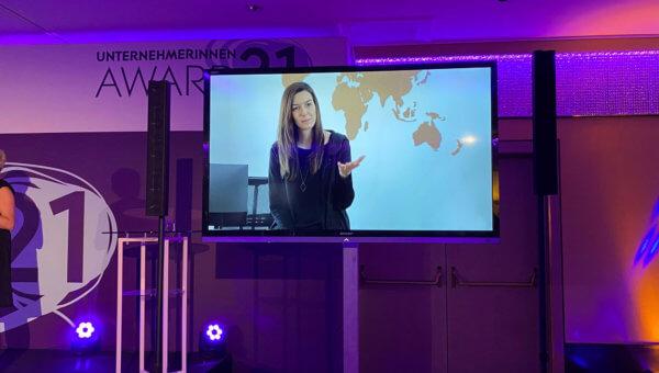 Unternehmerinnen-Award 2021: Magdalena Hauser gehört zu den besten Unternehmerinnen Österreichs.