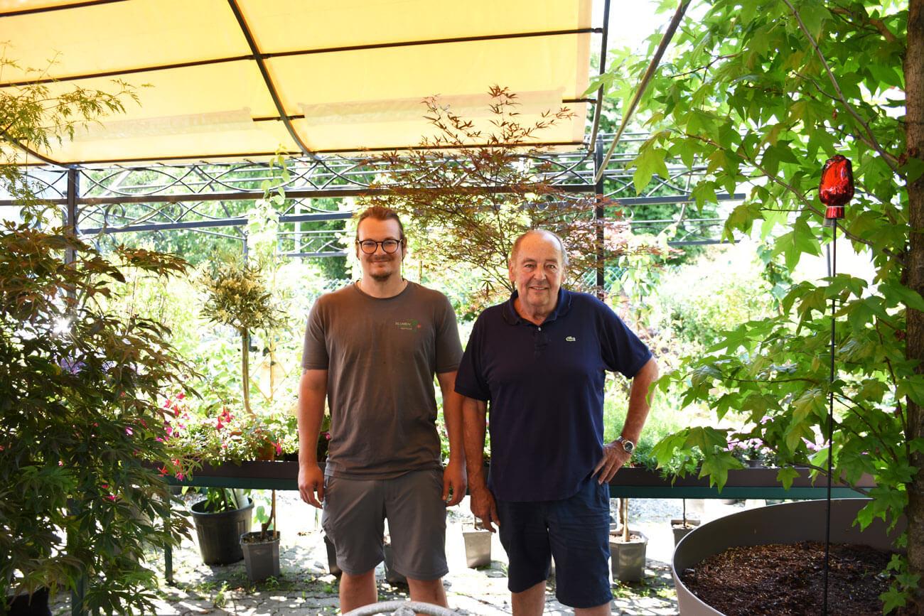Michael und Roman Tauber (v.l.).