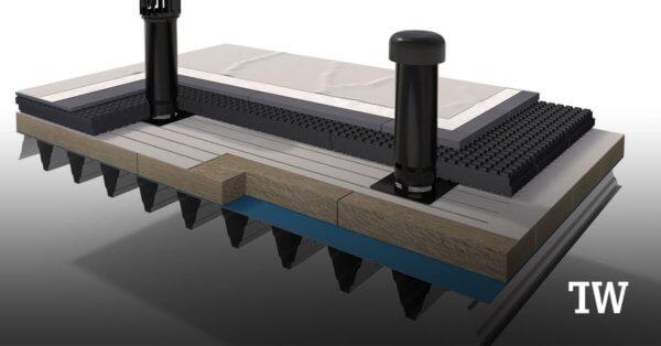 Das Warmdach-Dämmprodukt steinodur® WDO plus wurde 2020 von der Steinbacher Dämmstoffe GmbH auf den Markt gebracht.