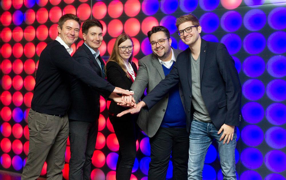 Das Gründerteam von Holo-Light.