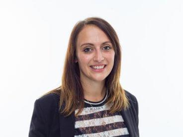 Andrea Haas, Mitarbeiterin Standortagentur