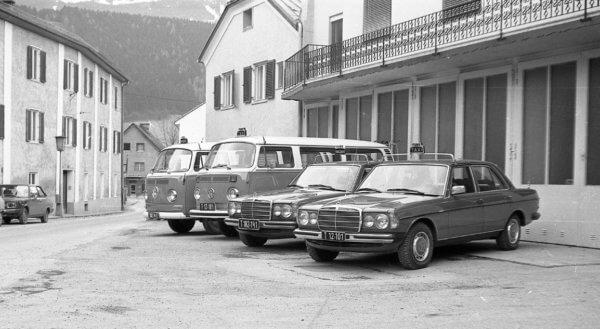 Frühere Flotte von Taxi Kratzer