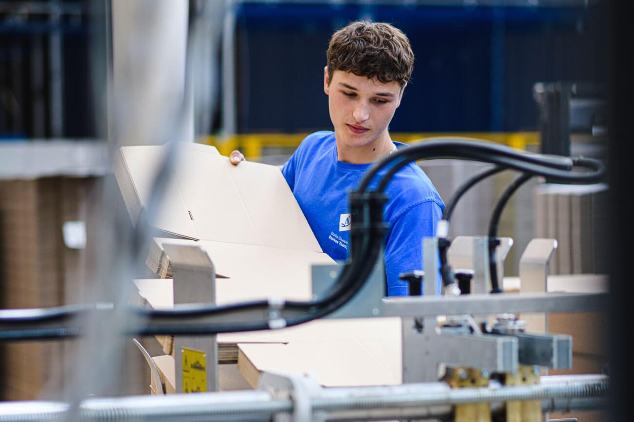 Durch eine ausgezeichnete Lehrausbildung sorgt das Unternehmen auch für die betriebliche Zukunft vor.