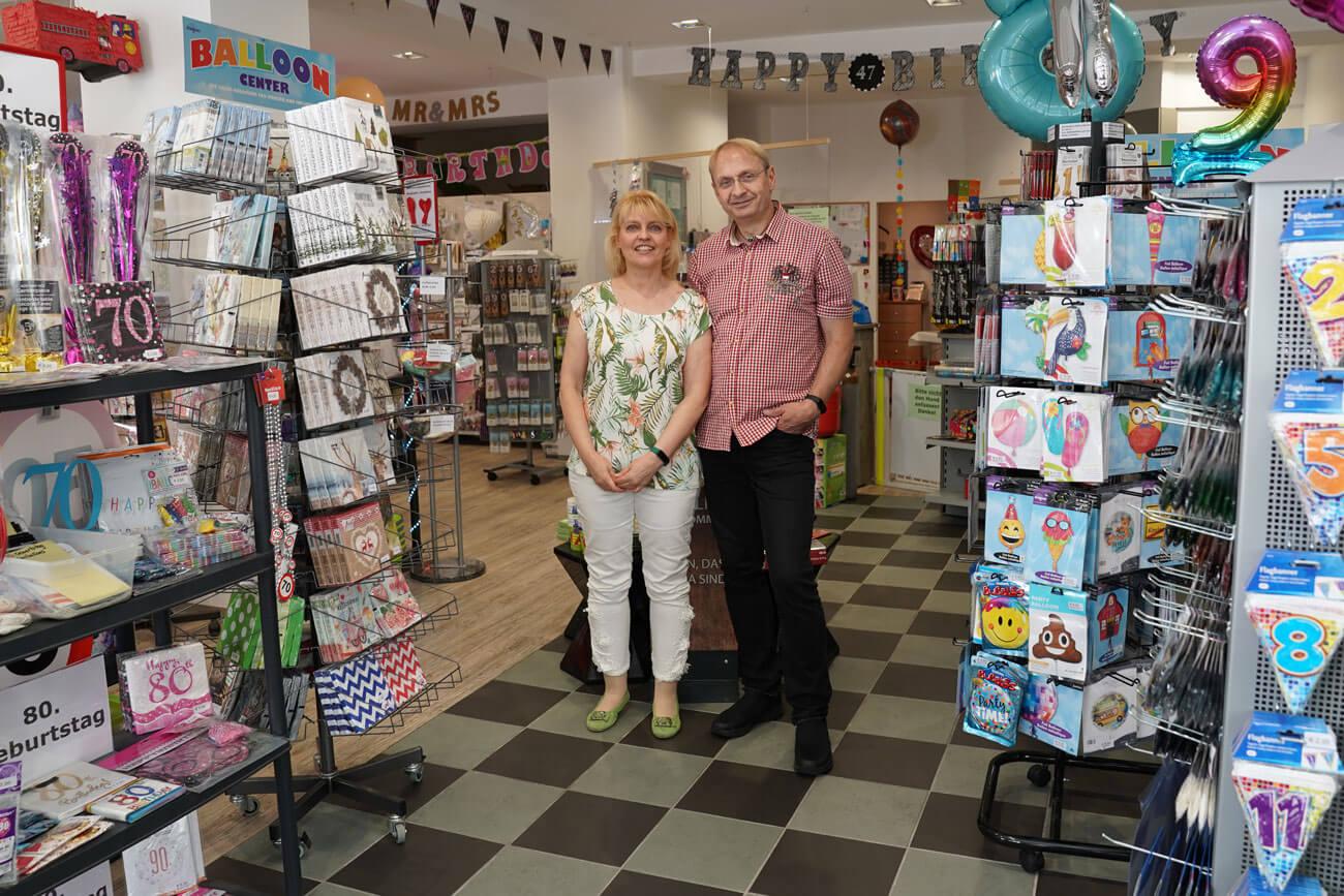Mona und Jörg Ulmer eröffneten vor vier Jahren ihr Fachgeschäft MyPartyshop in Landeck. Hochwertige Produkte und persönliche Beratung stehen bei ihnen an oberster Stelle.