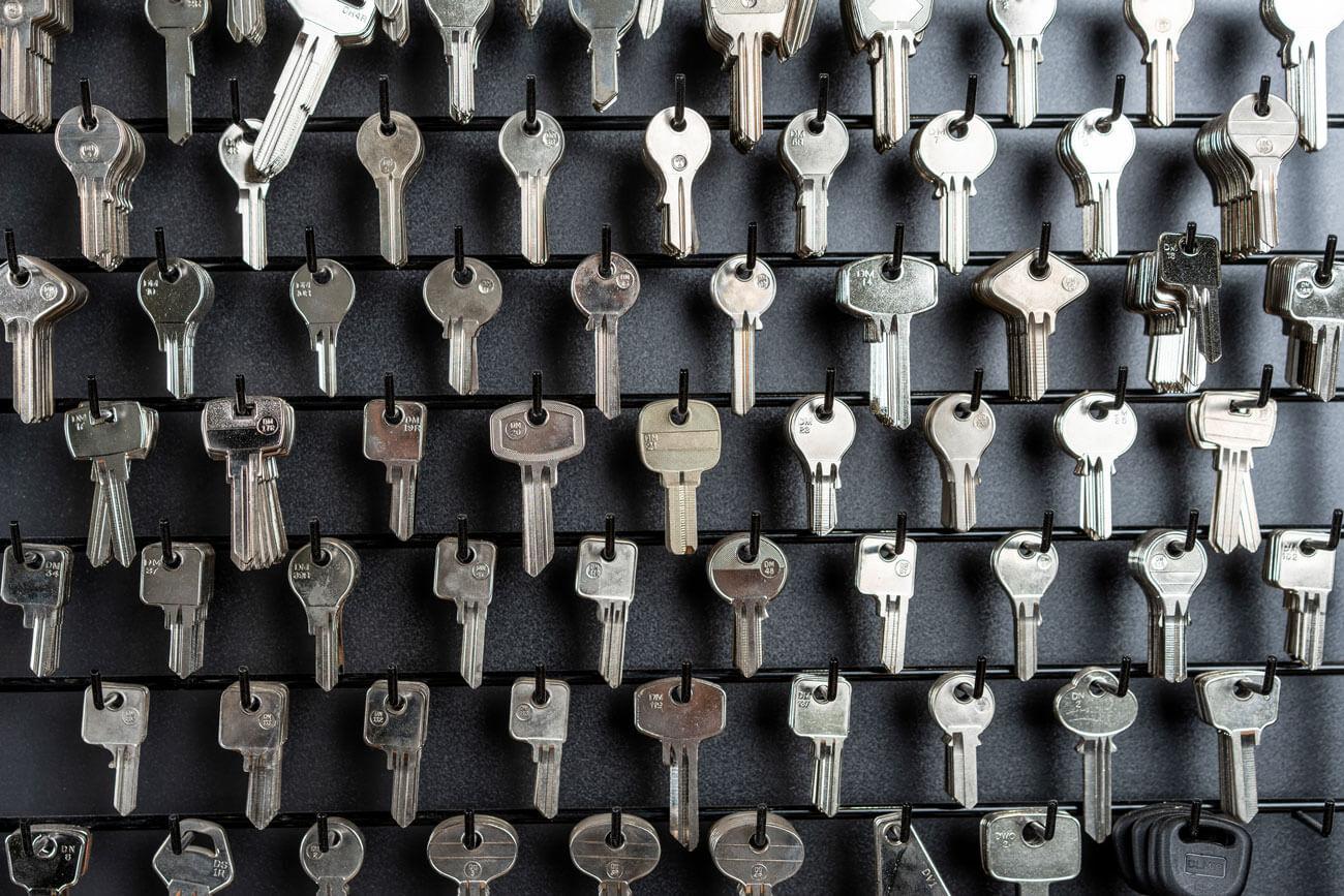 Schlüssel-Rohlinge von Lintner Sicherheitstechnik